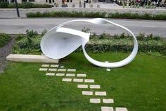Mémorial d'holocauste de Budapest Photo stock