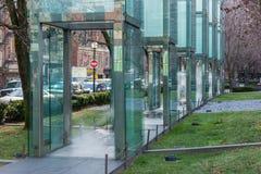 Mémorial d'holocauste de la Nouvelle Angleterre, Boston, le Massachusetts, le 30 décembre 2013 Image stock
