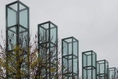 Mémorial d'holocauste de la Nouvelle Angleterre, Boston, le Massachusetts, le 24 octobre 2014 Photo libre de droits