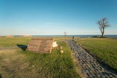 Mémorial d'holocauste de Montevideo images libres de droits