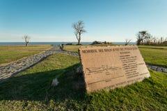 Mémorial d'holocauste de Montevideo image libre de droits