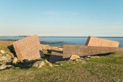 Mémorial d'holocauste de Montevideo images stock