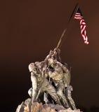 Mémorial d'Iwo Jima Photographie stock