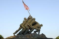 Mémorial d'Iwo Jima Image stock