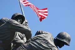 Mémorial d'Iwo Jima Images libres de droits