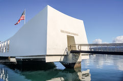 Mémorial d'USS Arizona Image stock