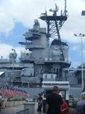 Mémorial d'USS Missouri, Pearl Harbor Hawaï photographie stock libre de droits