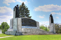 Mémorial dans Brantford, Ontario, Canada pour Alexander Graham Bell images stock