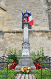 Mémorial dans les victimes de commémoration de Plivot de la guerre mondiale d'I Photos stock