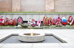 Mémorial dans Veliky Novgorod Images libres de droits