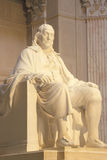 Mémorial de Benjamin Franklin Photographie stock