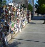 Mémorial de bombardement de Ville d'Oklahoma Image stock