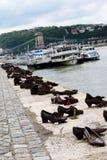Mémorial de Budapest photos libres de droits
