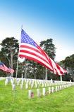 Mémorial de cimetière Image libre de droits