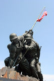 Mémorial de corps des marines Images libres de droits
