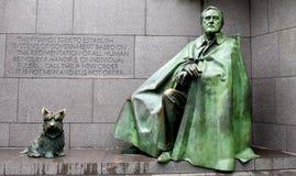 Mémorial de Franklin Delano Roosevelt image libre de droits