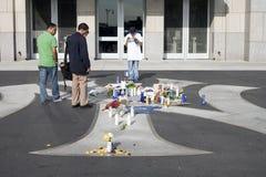 Mémorial de George Steinbrenner Photos stock