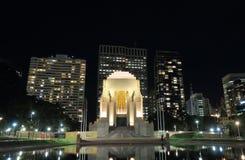 Mémorial de guerre d'Anzac Hyde Park Sydney Australia Photos libres de droits