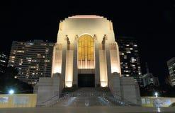 Mémorial de guerre d'Anzac Hyde Park Sydney Australia Photographie stock libre de droits