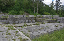 Mémorial de guerre dans Grahovo Images stock