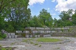 Mémorial de guerre dans Grahovo Photographie stock libre de droits