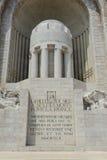 Mémorial de guerre dans Nice des Frances Images stock