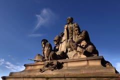 Mémorial de guerre de Boer, passerelle du nord, Edimbourg Photo libre de droits