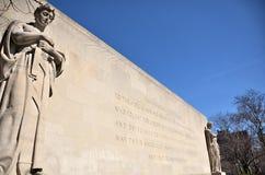 Mémorial de guerre de Brooklyn Image libre de droits