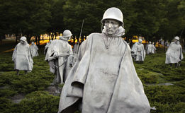 Mémorial de Guerre de Corée Photos stock