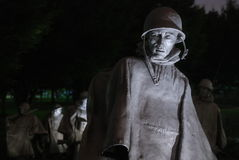 Mémorial de Guerre de Corée Photo stock
