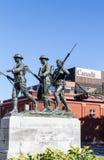 Mémorial de Guerre de Corée canadien photographie stock libre de droits