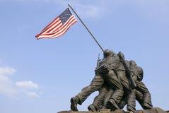 Mémorial de guerre de corps des marines des USA Images libres de droits