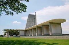Mémorial de guerre de Kranji (Singapour) Images stock