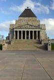 Mémorial de guerre de Melbourne Images stock