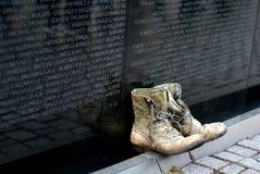 Mémorial de guerre de Vietnam Image libre de droits