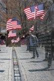 Mémorial de guerre de Vietnam Photos libres de droits