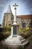 Mémorial de guerre de village Photographie stock