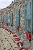 Mémorial de guerre des Malouines - Malouines Image libre de droits