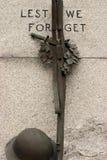 Mémorial de guerre mondiale Image libre de droits