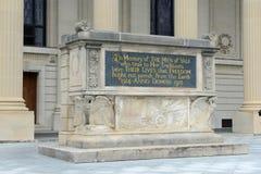 Mémorial de guerre mondiale, Yale University, CT, Etats-Unis image stock