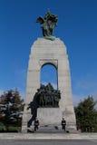 Mémorial de guerre national de Canada Images stock