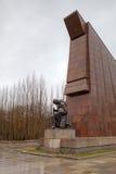 Mémorial de guerre soviétique en stationnement de Treptower. Berlin Images stock