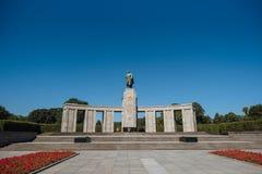 Mémorial de guerre soviétique Tiergarten image stock