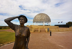 Mémorial de HMAS Sydney 2, Geraldton Image libre de droits
