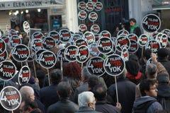 Mémorial de Hrant Dink à Istanbul une exposition de diversit Images stock