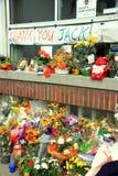 Mémorial de Jack Layton Photographie stock