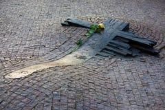 Mémorial de janv. Palach et de janv. Zajic Images stock