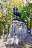 Mémorial de Jeanne d'Arc - New York City Images libres de droits