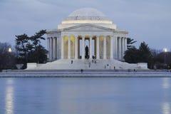 Mémorial de Jefferson Photographie stock libre de droits
