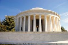 Mémorial de Jefferson Images libres de droits